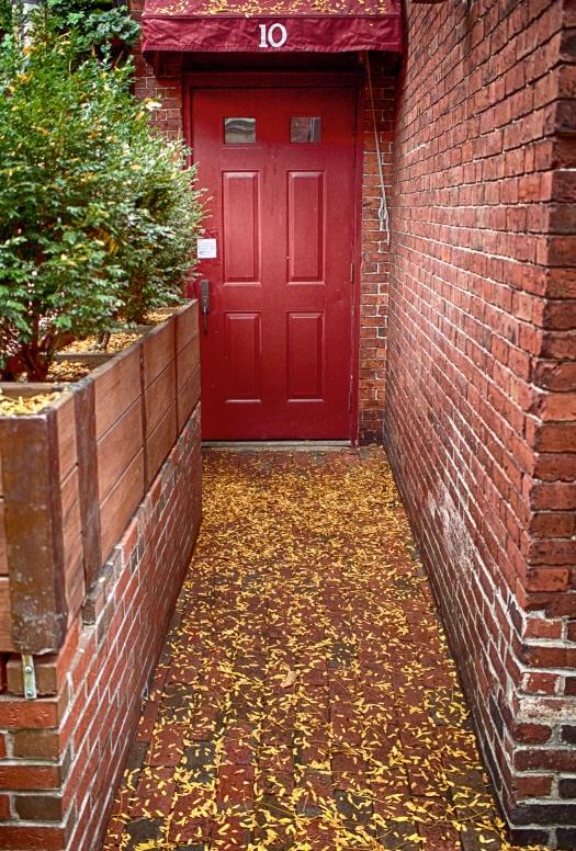 Wondering what's behind the red door?
